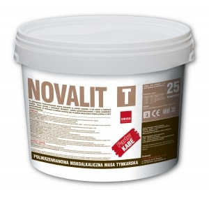 Tynk polikrzemianowy NOVALIT T - Farby Kabe