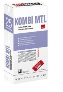 Tynk maszynowy lekki, mineralny - KOMBI MTL (biały)
