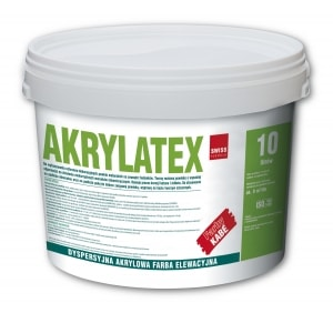Dyspersyjna, akrylowa farba do betonu - AKRYLATEX