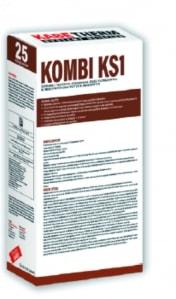 Zaprawa (fuga) do klinkieru i cegieł elewacyjnych KOMBI KS