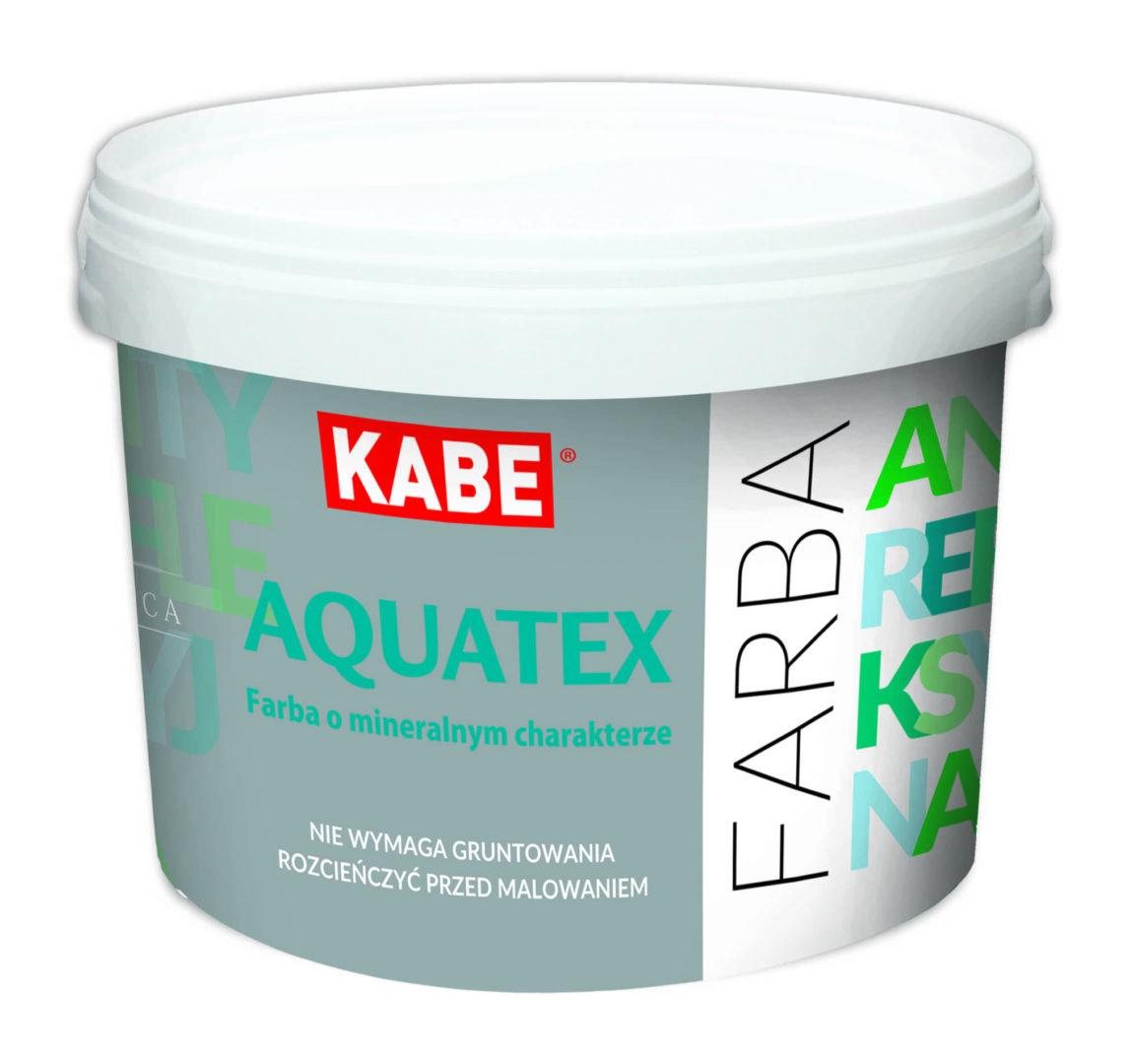 Farba krzemianowa, mineralna, wewnętrzna AQUATEX -Farby Kabe