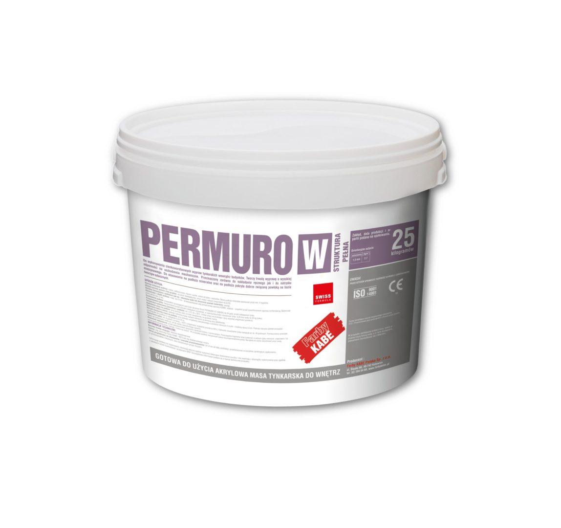Tynk akrylowy PERMURO W