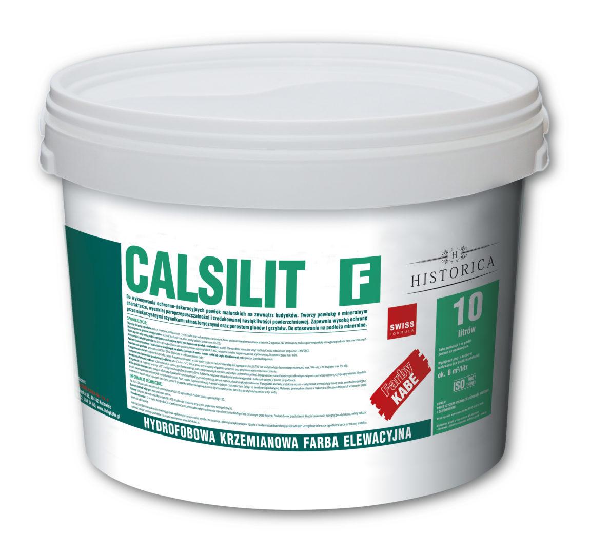Silikatowa (krzemianowa) farba CALSILIT F - Farby Kabe