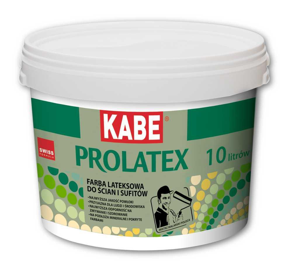Farba lateksowa PROLATEX do ścian i sufitów - Farby Kabe