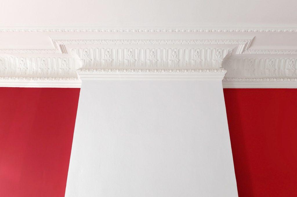Czerwona ściana